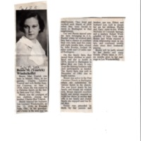 Obituary for Bessie Windscheffel